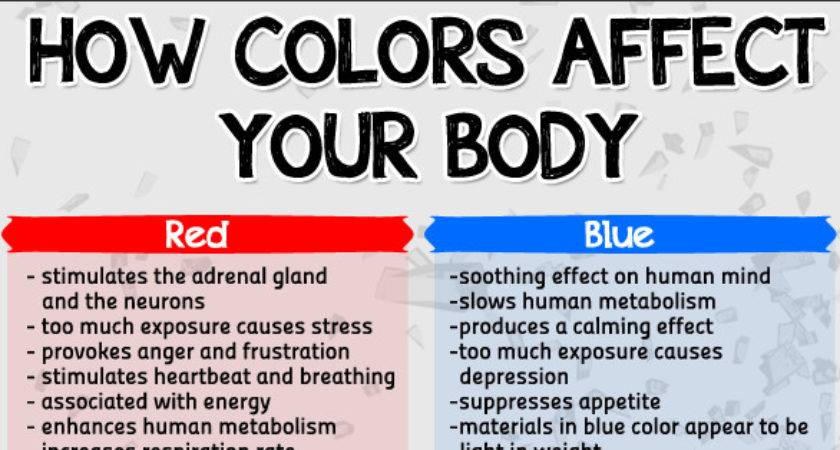 Colors Affect Your Body Herbs Info
