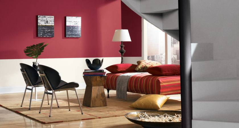 Colour Combination Simple Hall Living