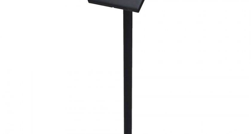 Commercial Anti Theft Ipad Floor Stand Pos Mount