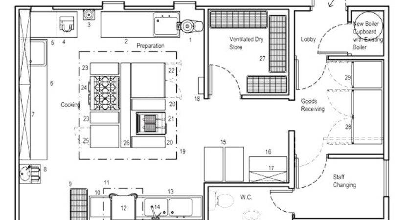 Commercial Kitchen Floor Plan Maybehip