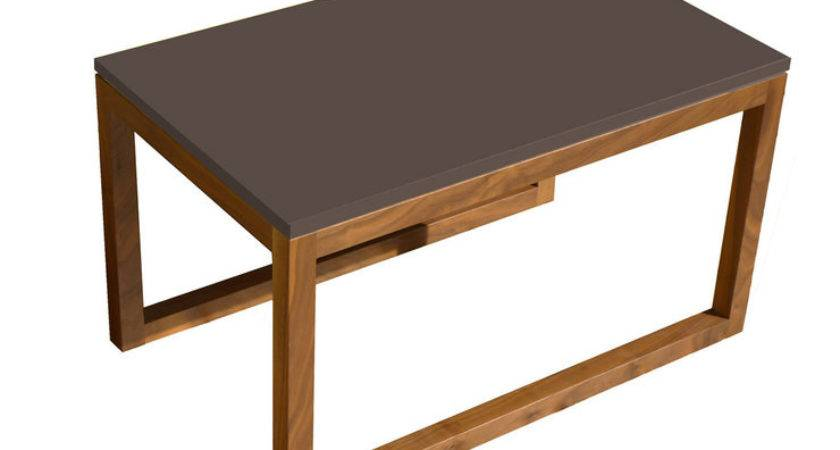 Commonhouse Frame Side Table Cool Brown Fab