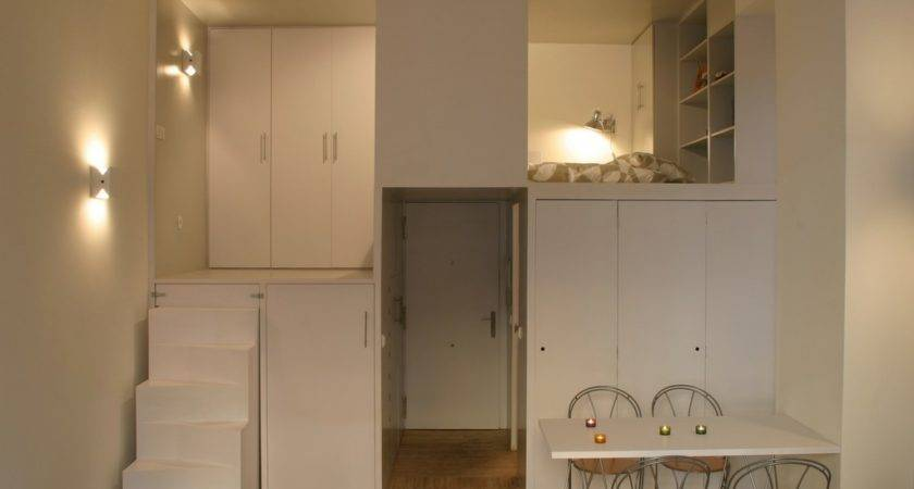 Compact Loft Madrid Displaying Smart Storage Solutions