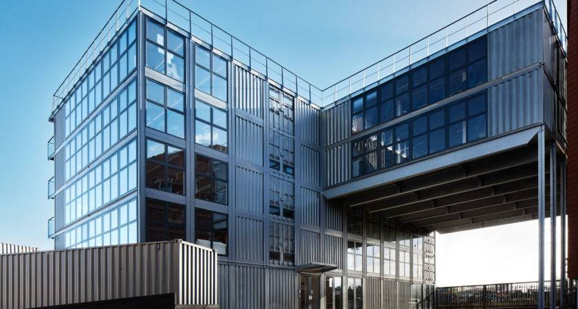 Container City Building Wins Best Office Award