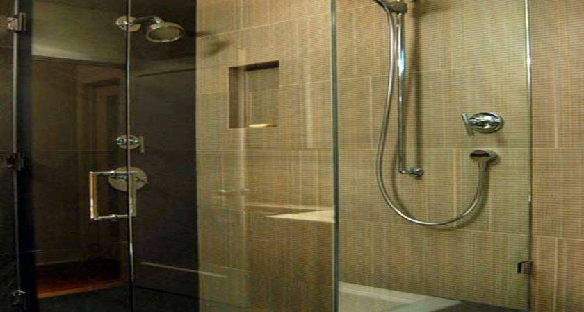 Contemporary Bathroom Showers Modern Glass Tile