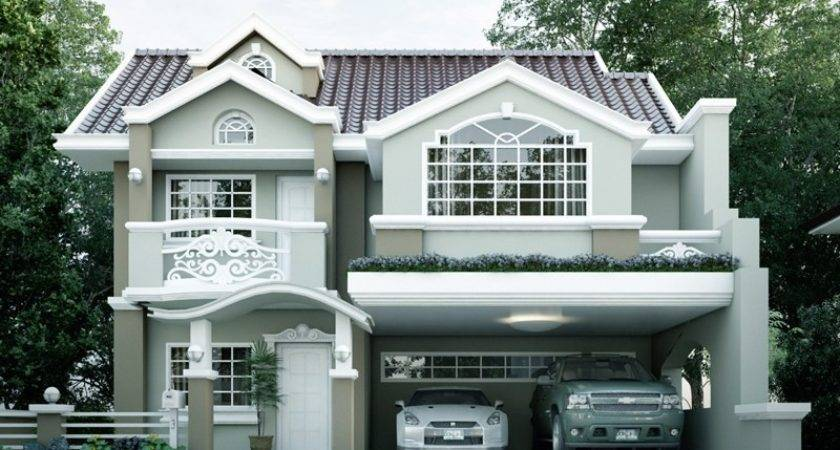 Contemporary House Design Mhd Pinoy Eplans