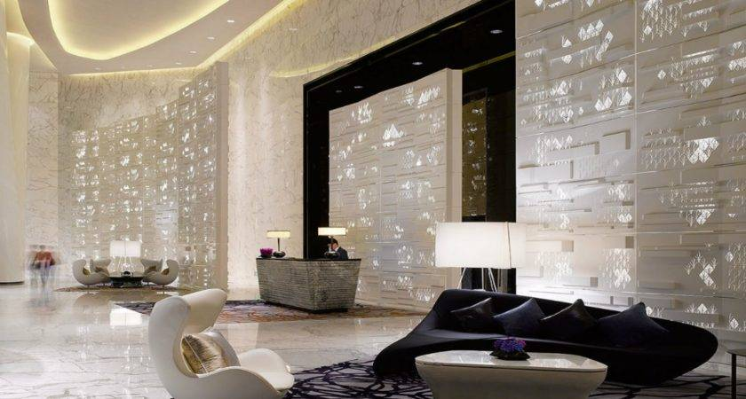 Contemporary Lobby Furniture Modern Hotel Interiors