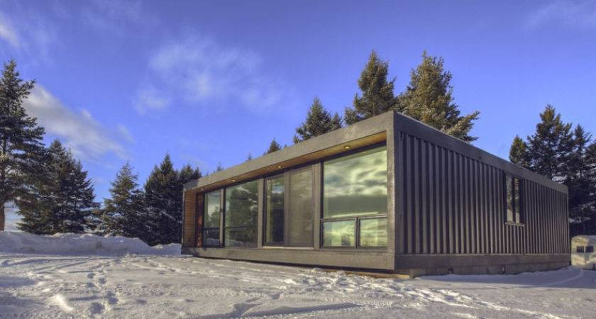 Contemporary Shipping Container Home Honomobo