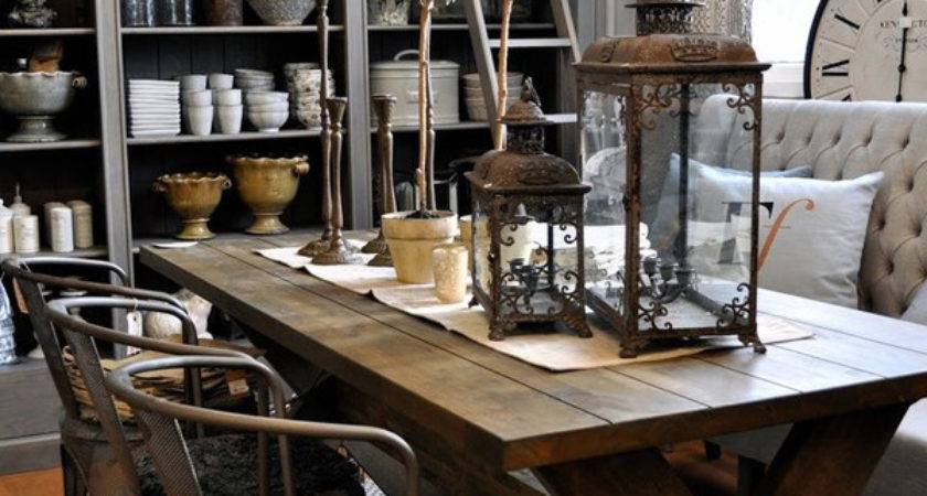 Cool Industrial Dining Area