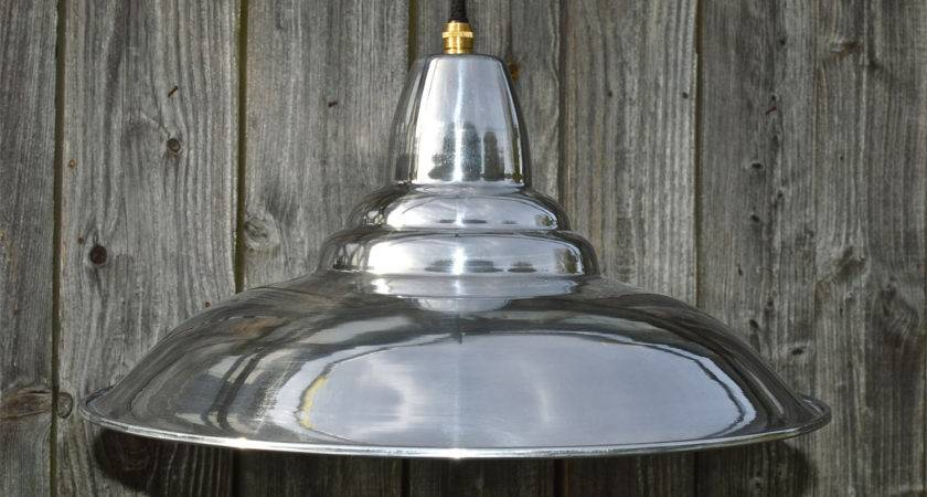 Cool Retro Styled Polished Ceiling Light Shade Pendant Lamp