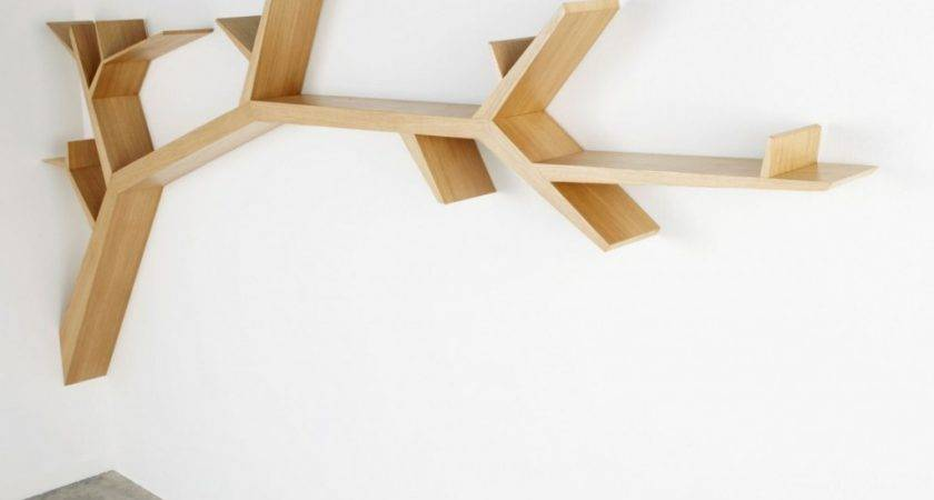 Cool Wall Mounted Shelves Spruce Your Interior Vizmini