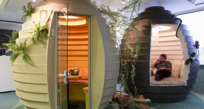 Coolest Offices World Make Green Envy