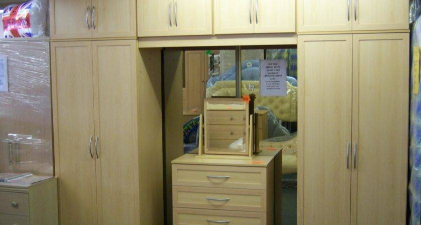 Coppice Range Over Bed Wardrobe Fitments