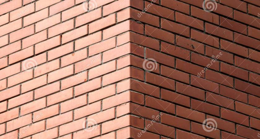 Corner Decorative Brick Wall
