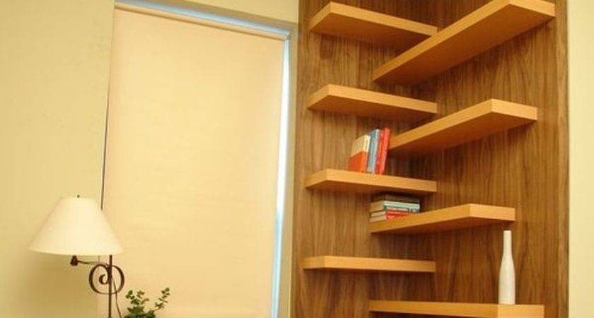 Corner Wall Shelf Ideas Maximize Your Interiors