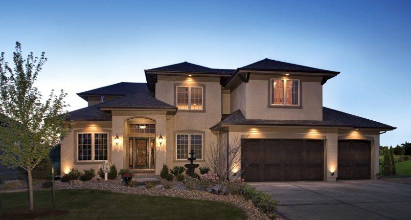 Cozy Modern House Exterior Brown Paint Latest
