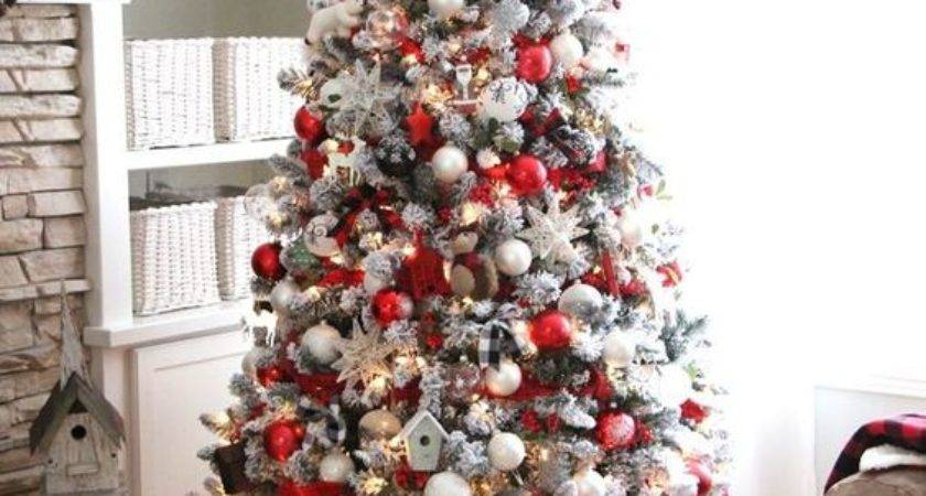Cozy Red White Christmas Cor Ideas Digsdigs
