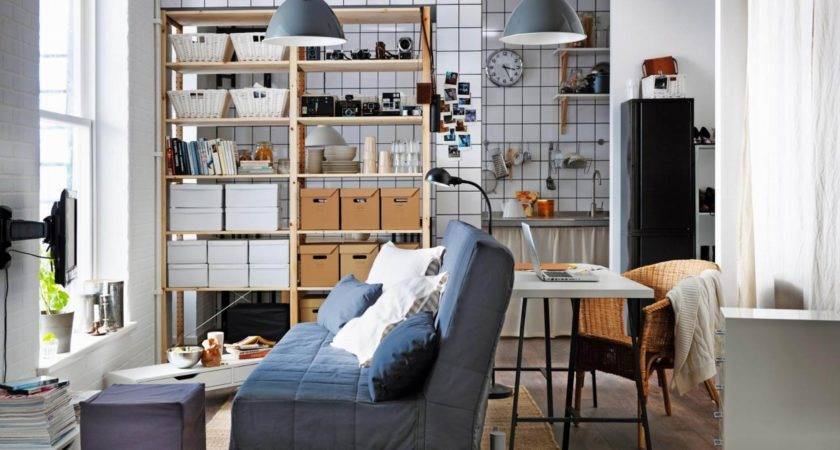 Cozy Small Modern Studio Apartment Functional Open Living