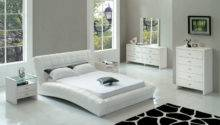 Cozy Style Modern White Bedroom Furniture