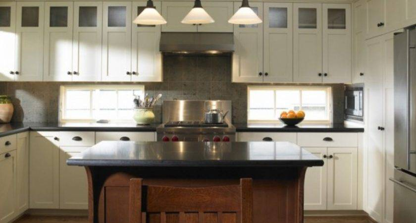 Craftsman Style Exterior Colors Shaker Kitchen
