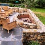 Create Fire Pit Yard Simple Backyard