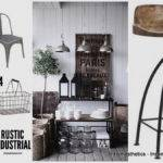 Create Rustic Industrial Design Line Your Home