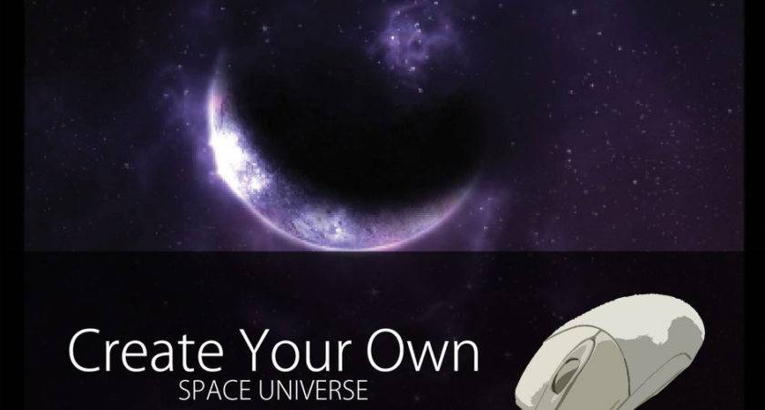 Create Your Own Space Universe Mouse