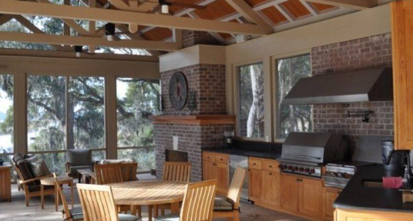 Creating Ideal Outdoor Summer Kitchen Fall Home