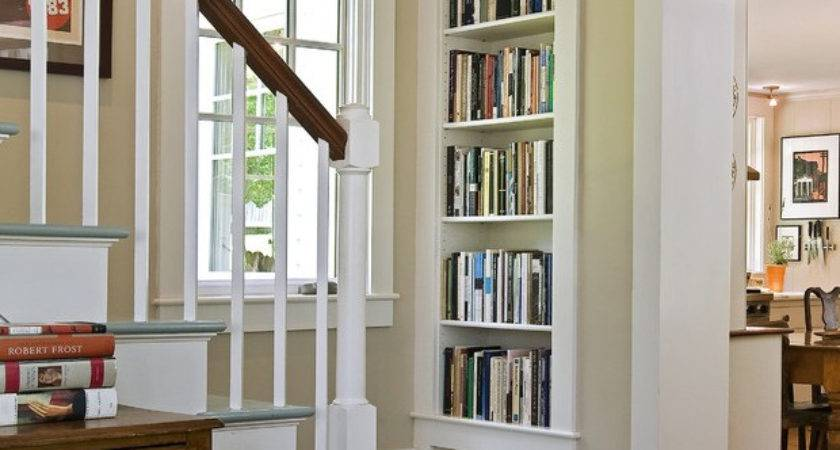 Creative Bookcases Built Into Wall Yvotube