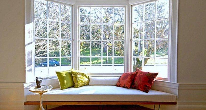 Creative Ideas Decorate Bay Window Interior