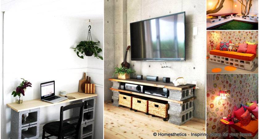 Creative Yourself Cinder Block Projects Your