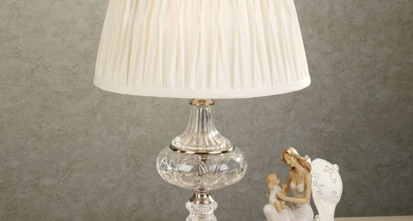 Crystal Table Lamps Bedroom Unique