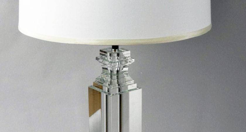 Crystal Table Lamps Home Interior Furniture Ideas Also