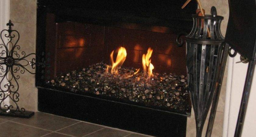 Crystals Fireplace Glass Fire Place Pits