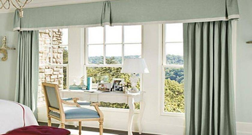 Curtain Ideas Bedrooms Large Windows