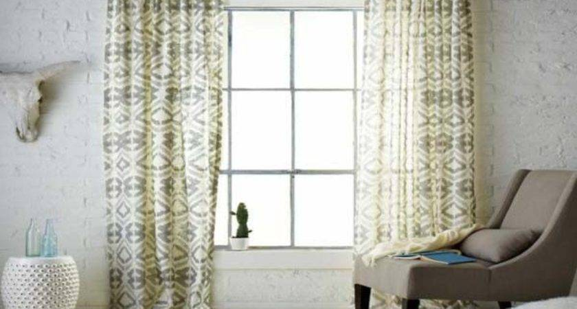 Curtain Ideas Large Windows