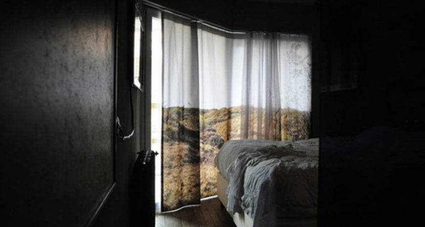 Curtains Scenic Landscape Effect Blu Realty