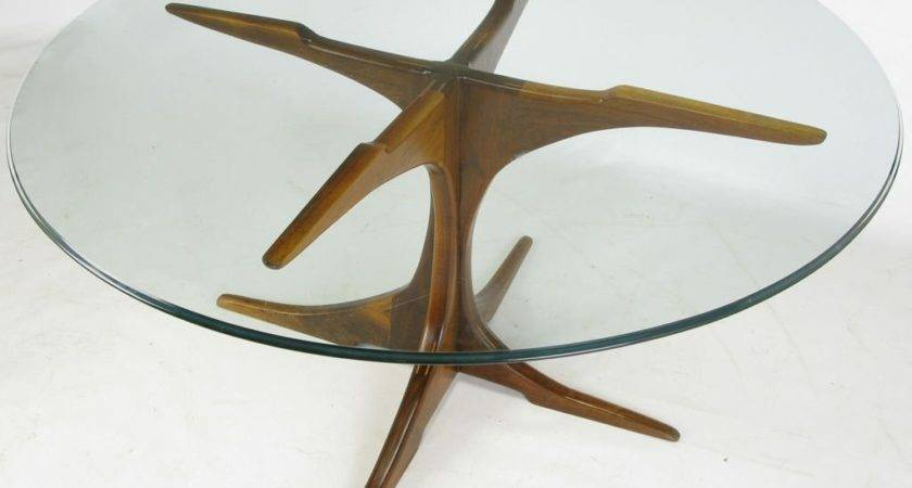 Custom Base Teak Wood Dining Table Glass Top Stdibs