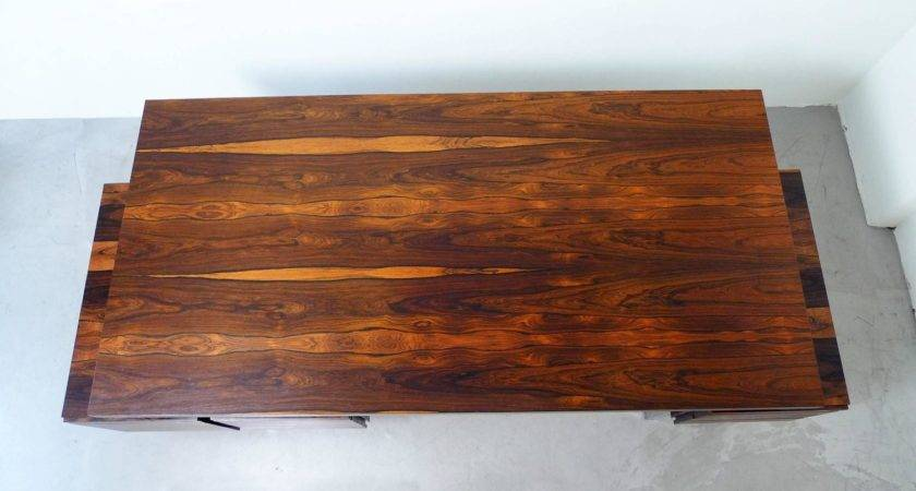 Custom Made Executive Desk Impressive Rosewood