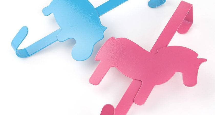 Cute Cartoon Back Door Hooks Creative Animal Coat