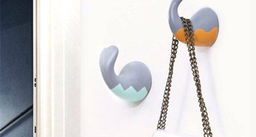 Cute Wall Hooks Incredible Decoration