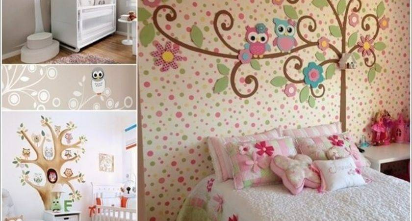 Cute Ways Decorate Your Kids Room Owl Inspiration