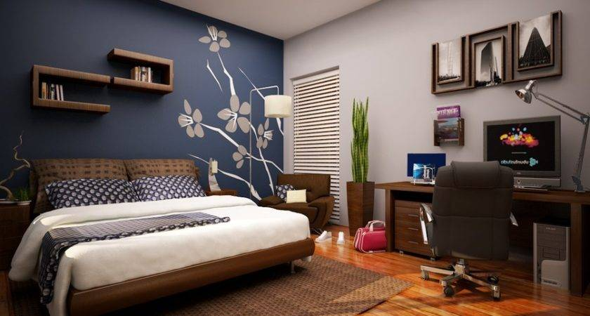 Dark Blue Paint Bedroom Fresh Bedrooms Decor Ideas