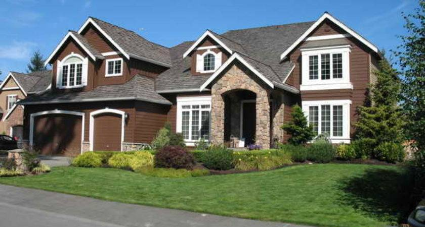 Dark Brown Exterior Paint Colors Plush Home