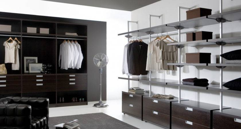 Dark Modern Walk Wardrobe Fitted Wardrobes Specialist