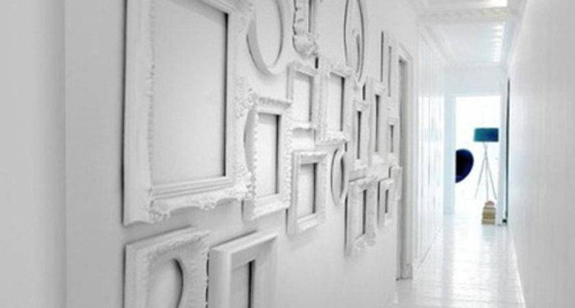 Decor Using Empty Frames Decorate Your