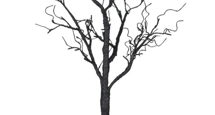 Decorating Lighted Branches Plus Wall Light Brown