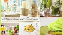 Decorating Natural Elements Different Ways