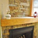 Decoration Build Stacks Stone Veneer Fireplace