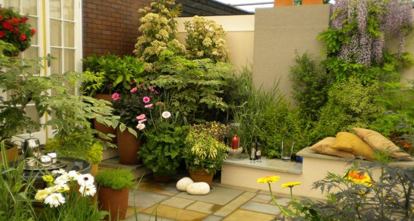 Decoration Small Home Garden Beautiful Features