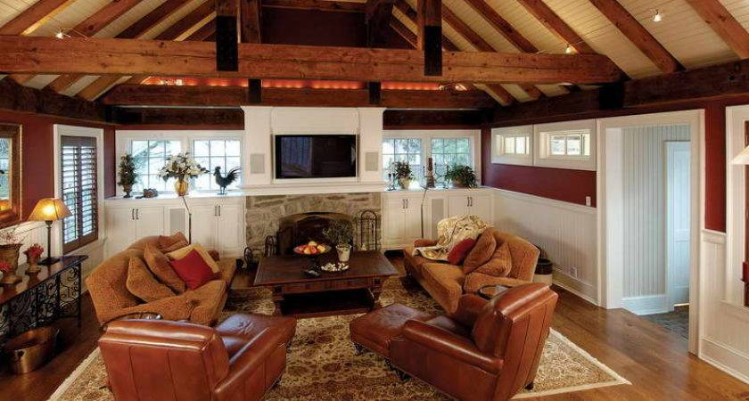 Decorations Ideas Vaulted Ceilings Wall